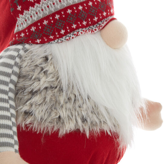 Decorative gnome soft toy