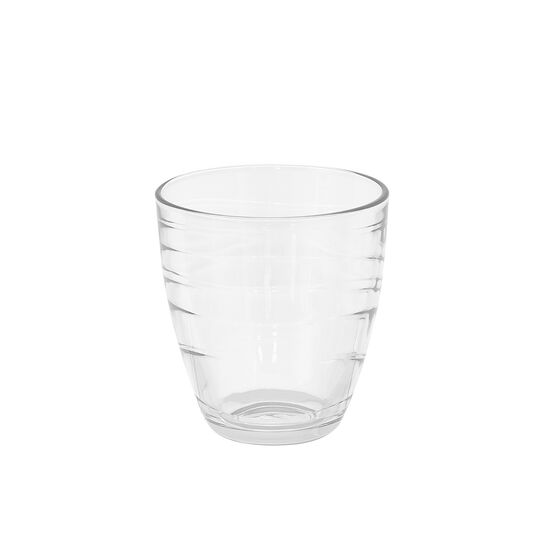 Set of 6 glass Mexico tumblers