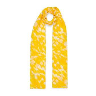 Koan leaf print scarf
