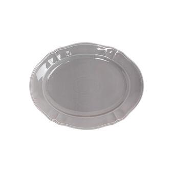 Piatto da portata ovale porcellana smaltata Romantic