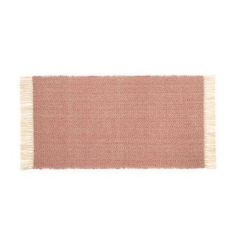 Tappeto cucina cotone con frange