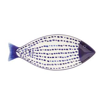 Piatto da portata ceramica a pesciolino