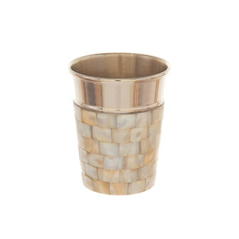 Portaspazzolini madreperla mosaico