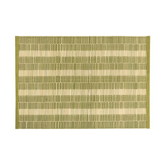 Bamboo and cotton table mat