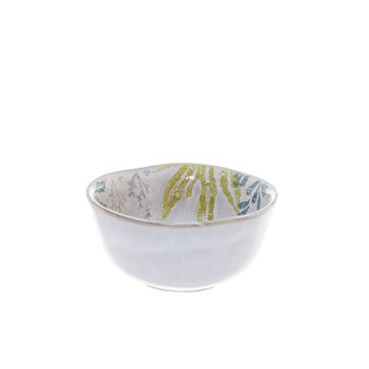 Small hand-painted terracotta bowl