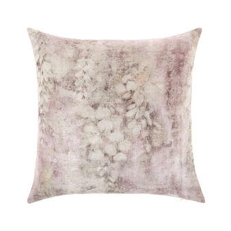 Vintage-effect jacquard weave cushion 45x45cm
