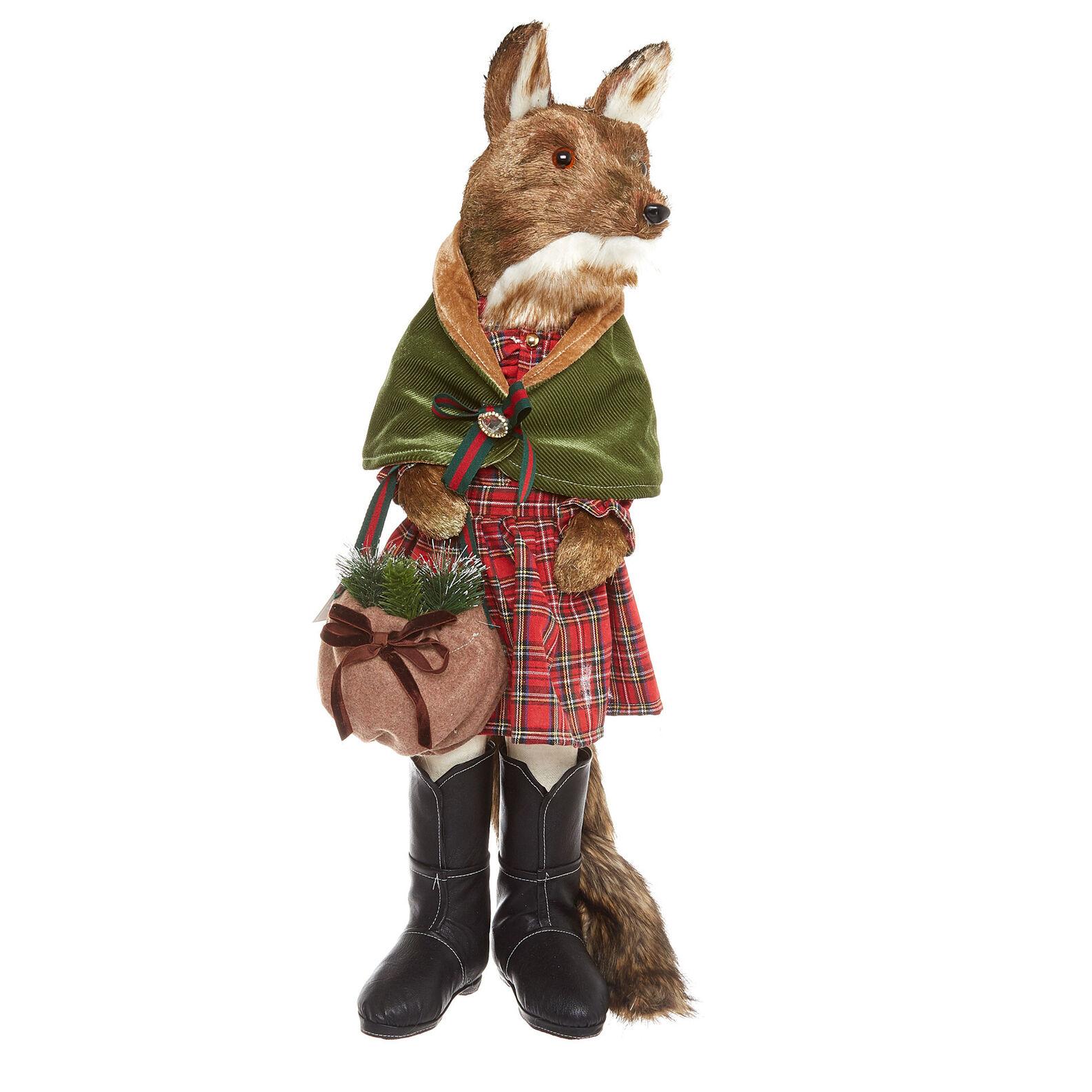 Decorative fox hand-made