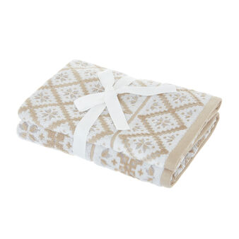 Set 2 asciugamani motivo norvegese