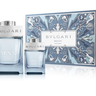 Kit of BVLGARI MAN GLACIAL ESSENCE gift box