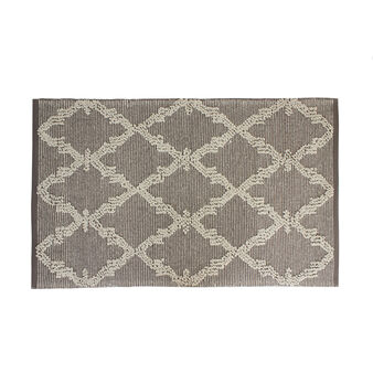 Dhurrie rug in pure cotton