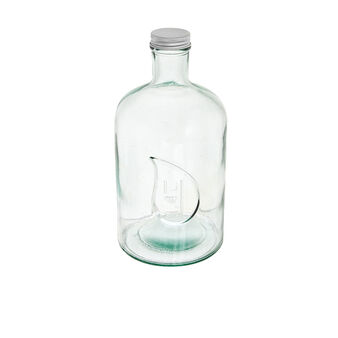 1.4 L recycled glass bottle.