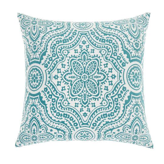 Jacquard pattern Marrakesh cushion