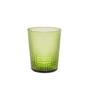 Diamond glass tumbler