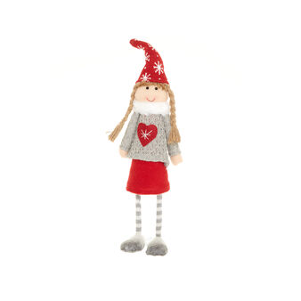 Fabric doll decoration