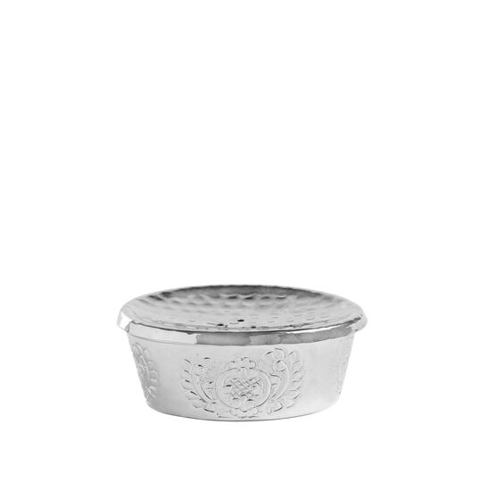Engraved soap dish