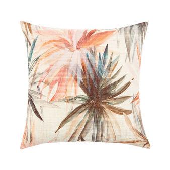 Cushion with palms print 50x50cm