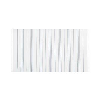 Striped organic cotton hammam beach towel