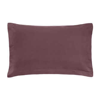 Zefiro solid colour pillowcase in percale.
