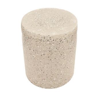 Sgabello in cemento effetto terrazzo