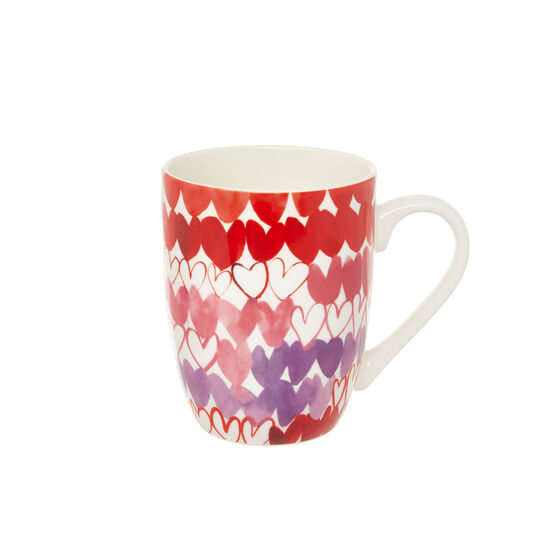 New bone china mug with Sandra Jacobs motif