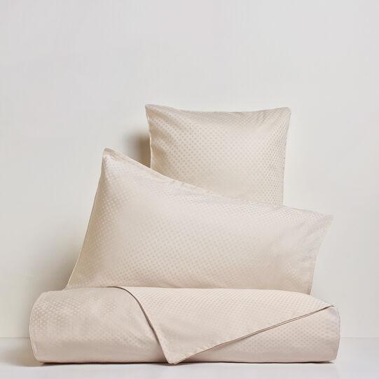 Portofino flat sheet in 100% cotton percale jacquard