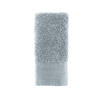 Solid colour organic cotton face cloth