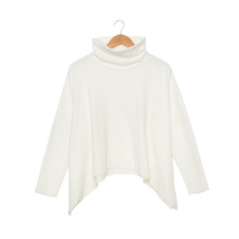 Solid colour micro fleece top