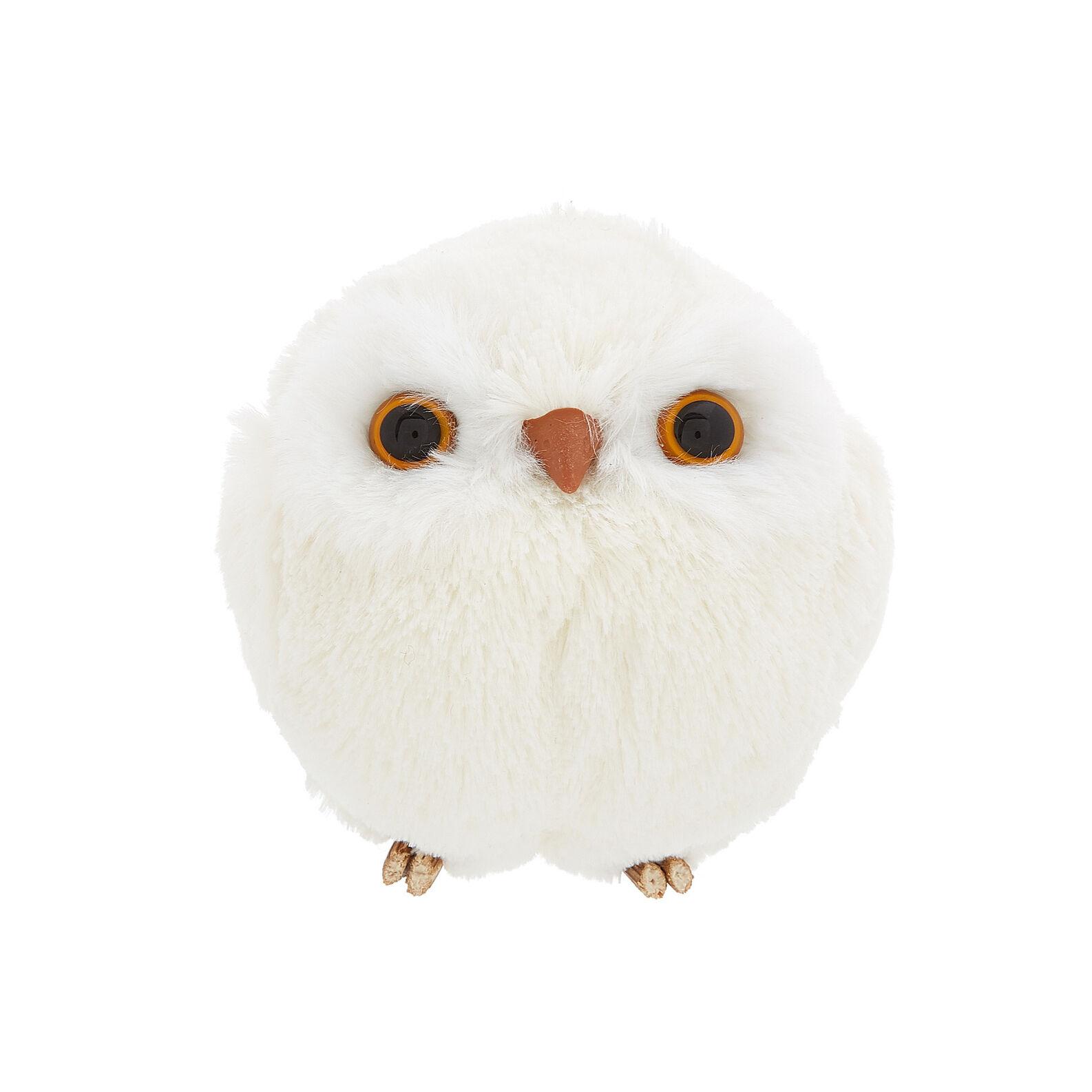 Decorative owl soft toy