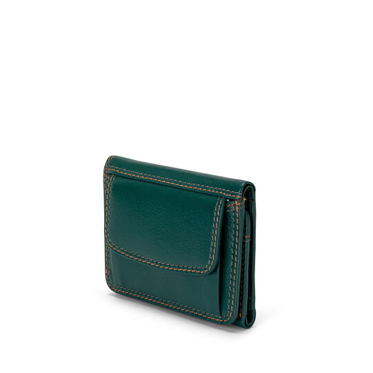 Mini wallet in genuine Koan leather