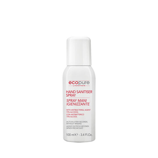 Ecopure by Monotheme sanitizing hand spray 100ml