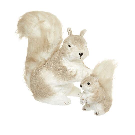 Pupazzo decorativo a scoiattolo
