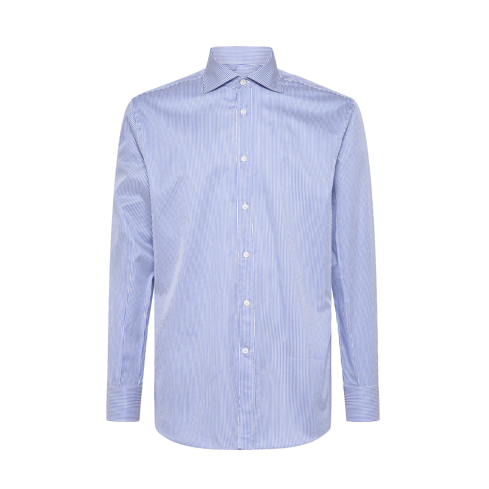 Double twisted cotton shirt