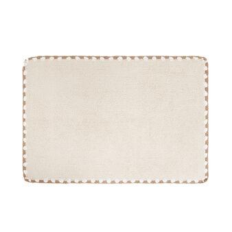 Crochet cotton bath mat