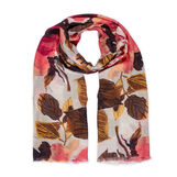 Koan pure viscose scarf with  flowers