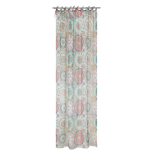 Abstract print curtain