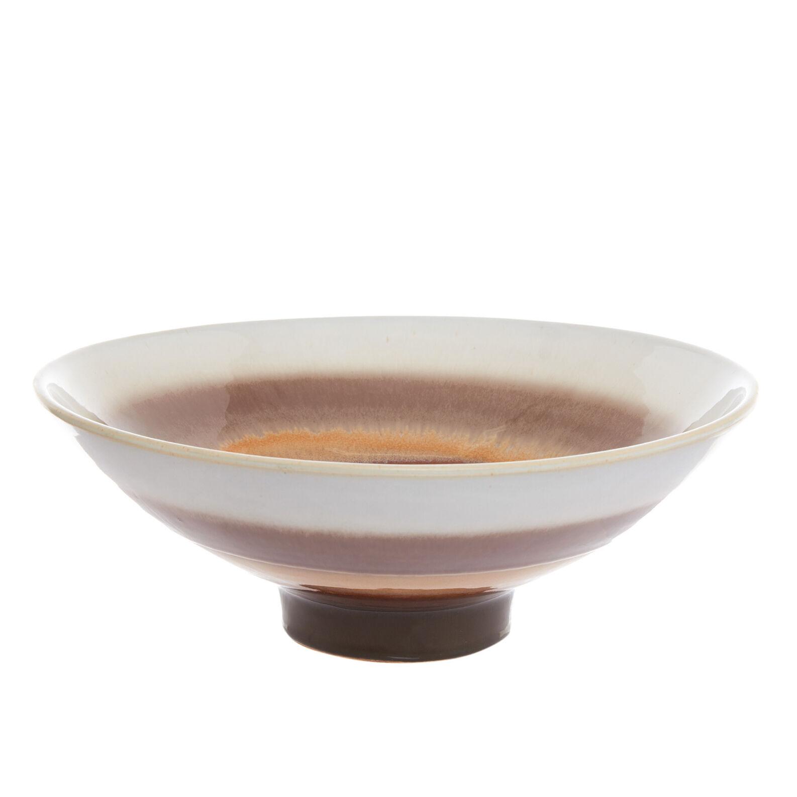Handmade decorative ceramic bowl