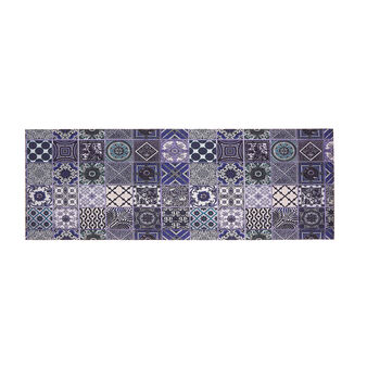 PCV kitchen mat with mosaic print
