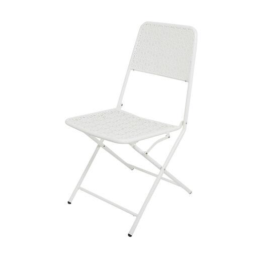 Blanca steel chair