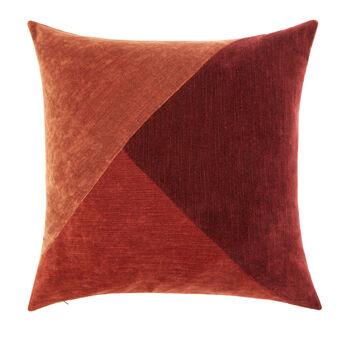 Cuscino velluto patchwork 50x50cm