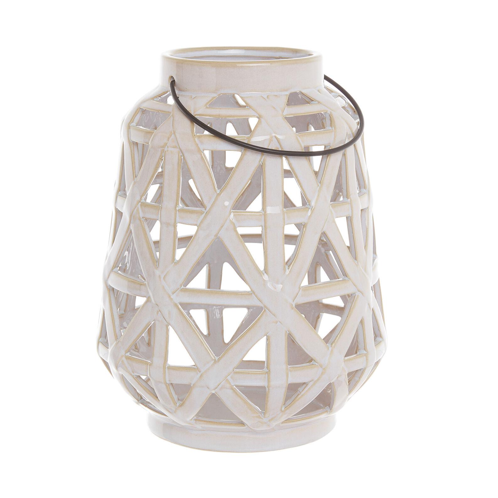 Handmade ceramic lantern