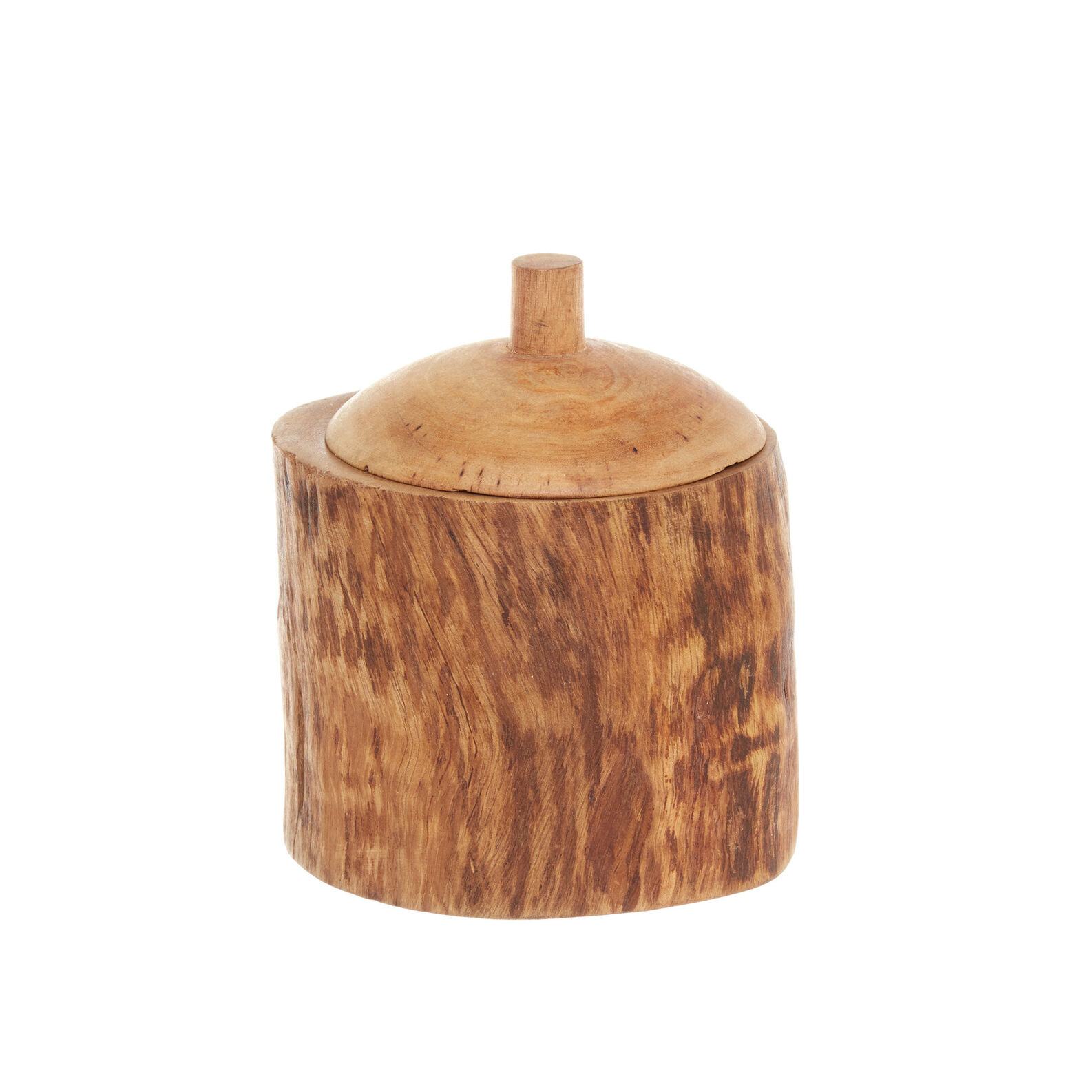Hand-decorated box in mango wood