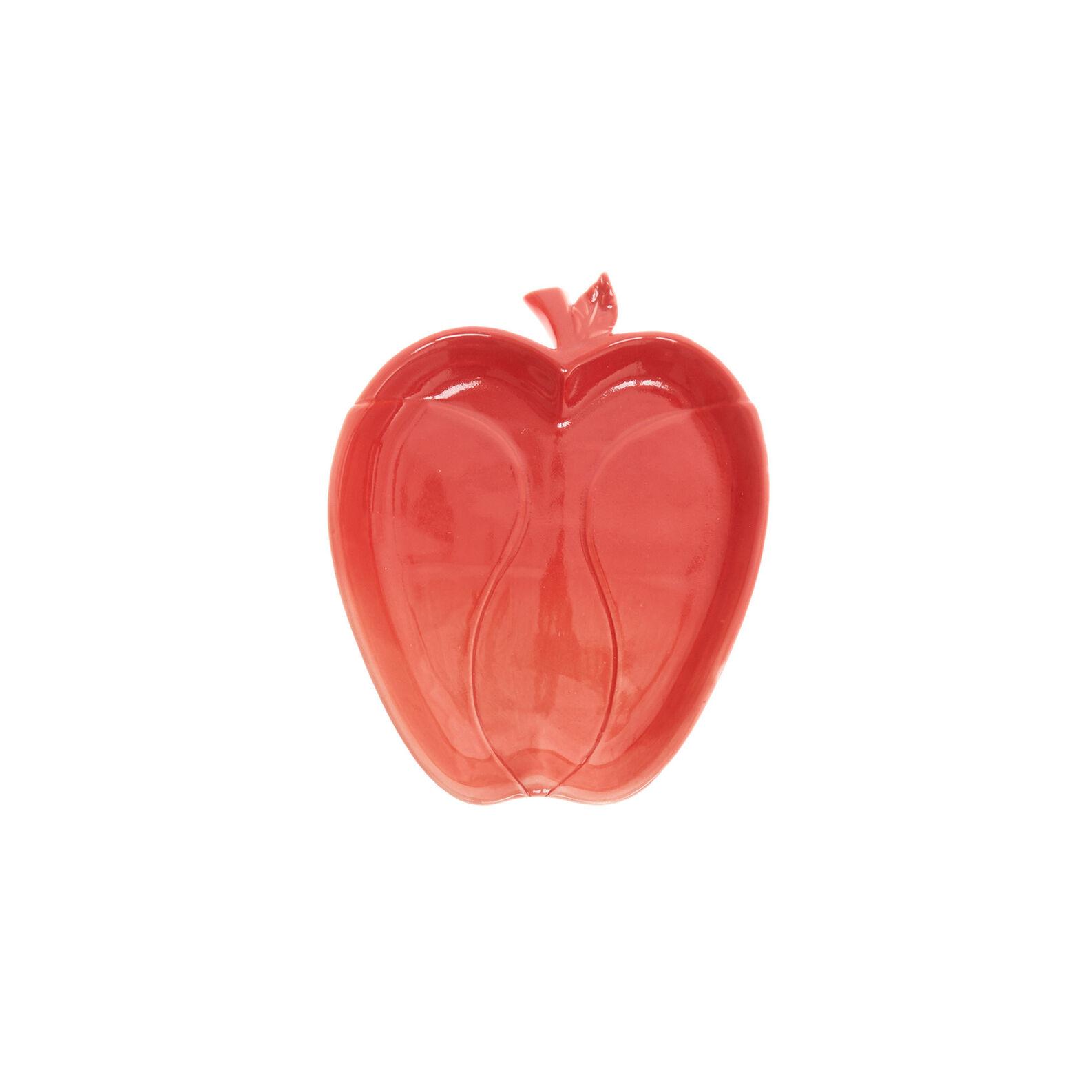 Piatto in porcellana a mela