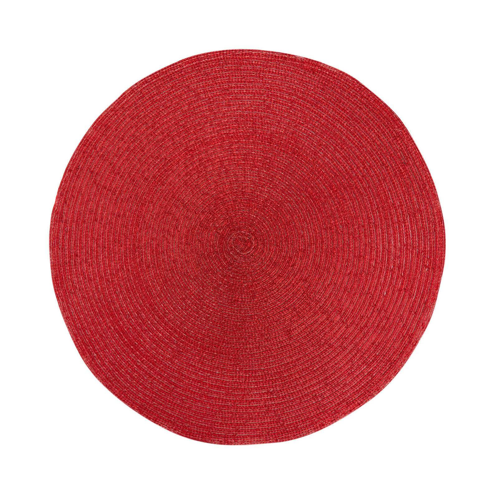 Table mat in red plastic