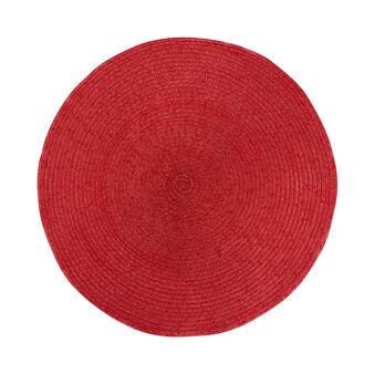 Tovaglietta plastica rossa
