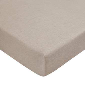 100% cotton jersey fitted sheet