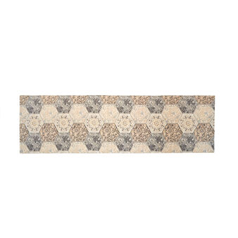 Kitchen mat in cotton and viscose