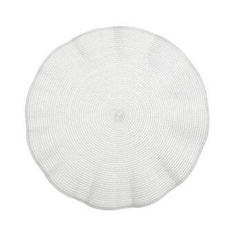 Tovaglietta plastica bordi ondulati