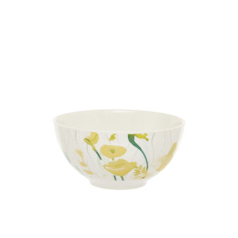 Coppetta new bone china fiori gialli