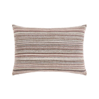 Jacquard striped cushion 35x55cm