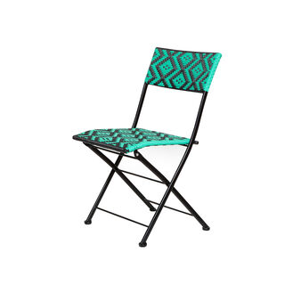 Playaparadiso folding chair in polyrattan and aluminium